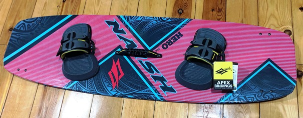 tabla bidireccional kitesurf